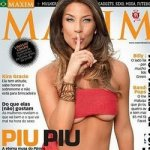 Piu Piu na Revista Maxim