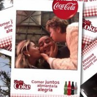 Coca-Cola Lança a Photo Coke nas Mesas dos Restaurantes
