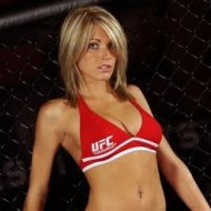 Natasha Wicks, a Loira do UFC, na Revista Maxim