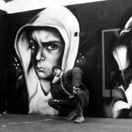 Imagens Pintadas em Grafite do Artisita Trans