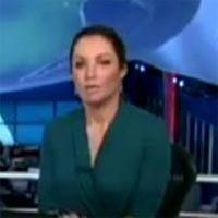 Patrícia Poeta Imita Chaves no Jornal Nacional