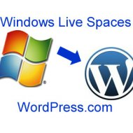 Windows Live Spaces Migra Blogs para WordPress.com