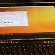 Hacker Demonstra Ubuntu Rodando no Galaxy Tab 10.1