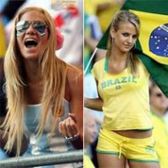 Torcida Feminina na Copa do Mundo