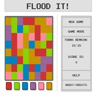 Jogo Online: Flood it!