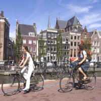 Bicicleta Tornou a Holanda o Único País que Não Engorda