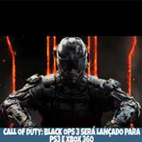 Call of Duty: Black Ops 3 Será Lançado Para PS3 e Xbox 360